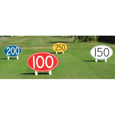 Driving Range Distance Markers One Stop Golf